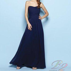 B2 Jasmine Jewel Strapless Dress NWT 14